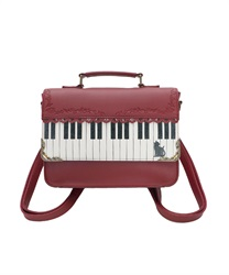 [Special item] piano Mini Satchel bag(Wine-M)