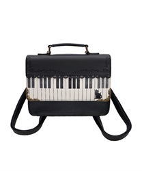 [Special item] piano Mini Satchel bag(Black-M)
