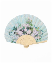Van Gogh White Flower fan(---M)