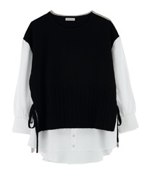 Layered-style Docking Pullover