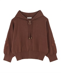 Knit cardigan_AS143X01(Mocha-Free)