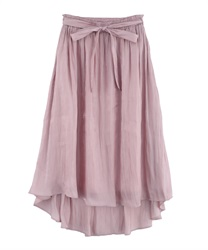 【MAX80%OFF】Long skirt_AS291X12(Pale pink-M)
