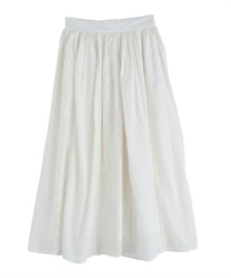 【MAX80%OFF】Long skirt_BK291X01(Ecru-Free)