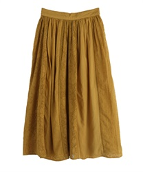 【MAX80%OFF】Long skirt_BK291X01(Yellow-Free)