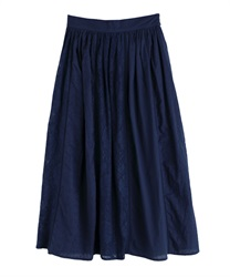 【MAX80%OFF】Long skirt_BK291X01(Navy-Free)