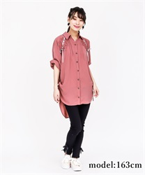 DrDressped shirt Dress