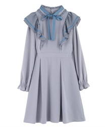 【Uniform price】Ruffle Frill Dress