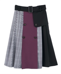 【MAX80%OFF】Skirt_CI285X10(Purple-Free)