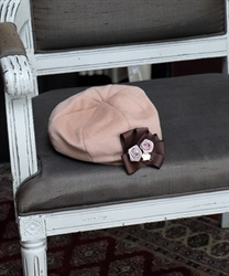 Corsage with beret(Beige-M)