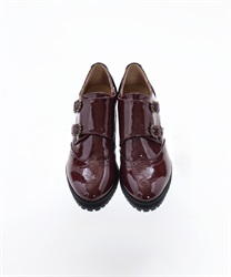 Monk stripe shoe(Brown-S)