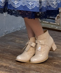 Rose Heels Ankle Boots