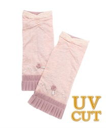 Rose Chiffon UV Gloves