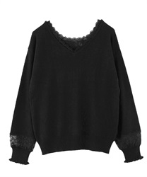 2-way washable knit(Black-Free)