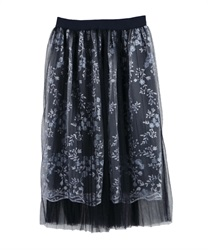 【MAX80%OFF】Skirt_FN285X07(Navy-Free)