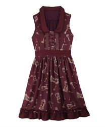 Theme:Tales Of Nostalgia .A-Line Dress 【Only at ONLINE SHOP】(Wine-Free)