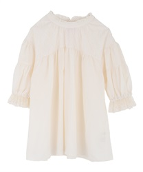 Gathering volume sleeve blouse(Ecru-Free)