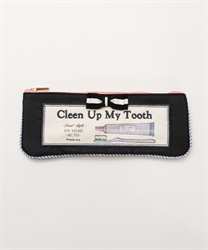 Silhouette toothbrush pouch(Black-M)