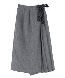 Wrap-style Wide Pants(Chachol-Free)