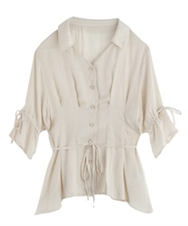 【2Buy20%OFF】2 Ways Blouse(Ecru-Free)