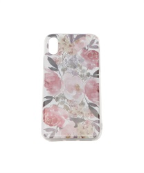 【iPhone X,XS】Floral Pattern iPhone Case(A-M)