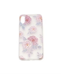 【iPhone X,XS】Floral Pattern iPhone Case(B-M)