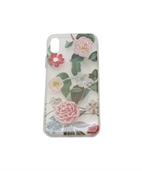 【iPhone X,XS】Floral Pattern iPhone Case(C-M)
