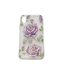 【iPhone X,XS】Floral Pattern iPhone Case(D-M)