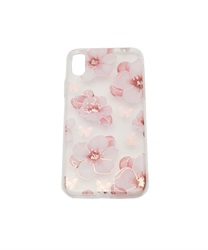 【iPhone X,XS】Floral Pattern iPhone Case(E-M)