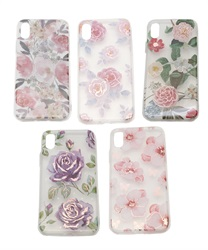 【iPhone X,XS】Floral Pattern iPhone Case