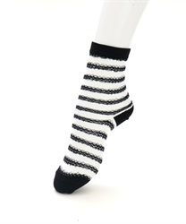 Lace Striped Socks