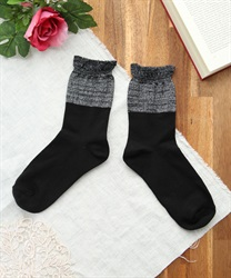 Flare socks(Black-M)