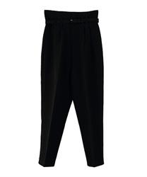 【MAX70%OFF】Center Press Pants(Black-M)