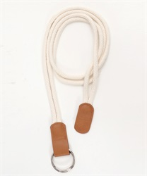 synthetic leather rope belt [online only](Brown-M)