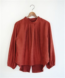 Back button pullover(Orange-Free)