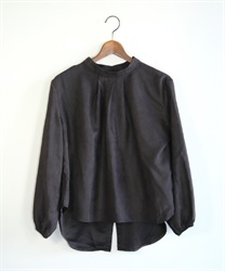 Back button pullover(Black-Free)