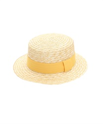Wheat Braid Boater(Yellow-M)