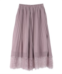 Willow Pleated Midiskirt(Pale pink-Free)