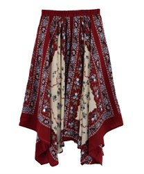 【MAX80%OFF】Long skirt_MK291X46(Red-Free)