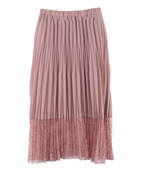 【MAX70%OFF】Random Pleated Skirt(Pale pink-Free)