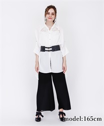 Ilehem shirt tunic(White-Free)
