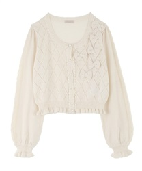Knit cardigan_MR161X25P