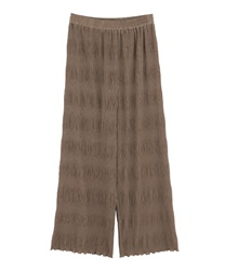 Majorica pleated pants(Mocha-Free)