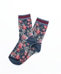 Wallpapered Socks(Blue green-M)