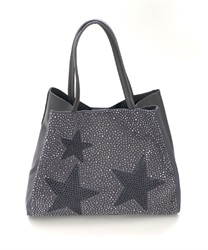 Star studs bag [online limited product](Grey-M)