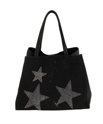 Star studs bag [online limited product](Black-M)