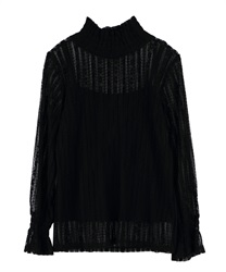 Lace pullover(Black-Free)
