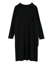 Side switching dress(Black-Free)