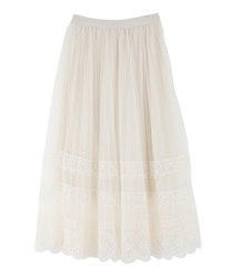 Lace and tulle SK(Ecru-Free)