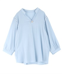 Skipper blouse(Blue-Free)