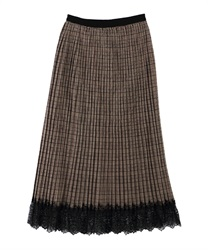 【MAX80%OFF】Skirt_TE285X06(Brown-Free)